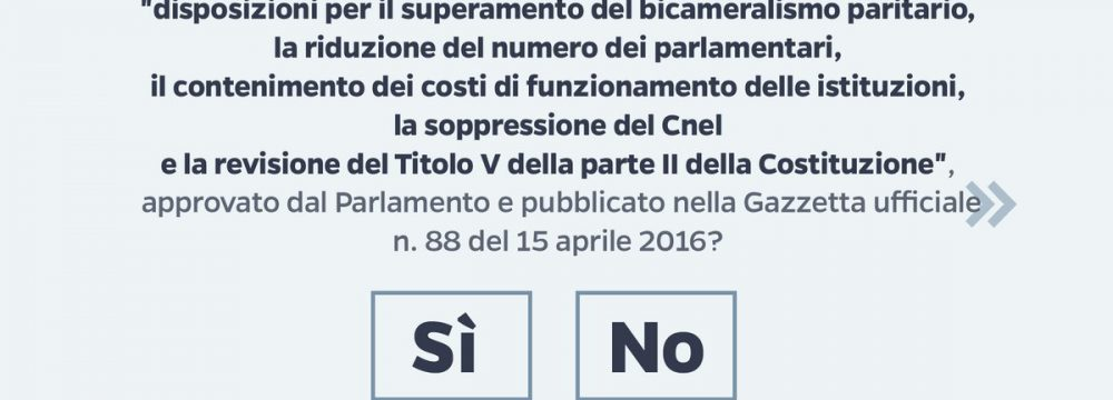 Referendum, 4 risate per decidere